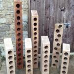 Oak Wine Racks by Southern Cliff Design