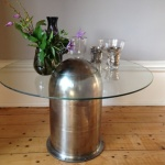 Highly Polished 'Bullet Table' by Southern Cliff Design
