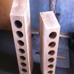 6 & 7 hole upright wine racks by Southern Cliff Design