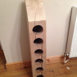6 hole wine rack by Southern Cliff Design