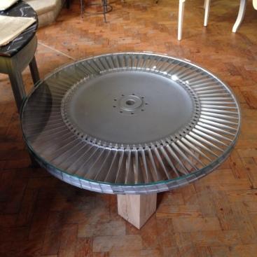 Gas Turbine Engine Part Coffee Table