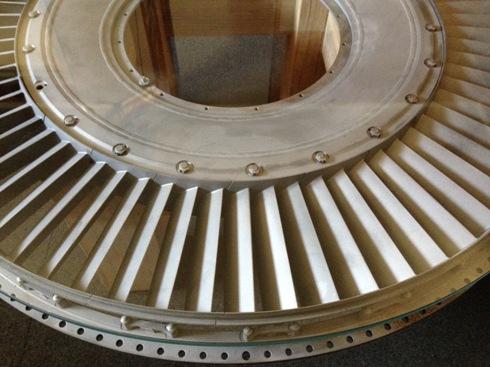 Gas Turbine Engine Part Coffee Table2