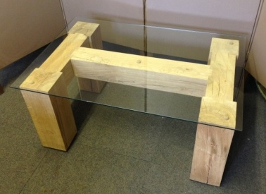 Hand made oak table