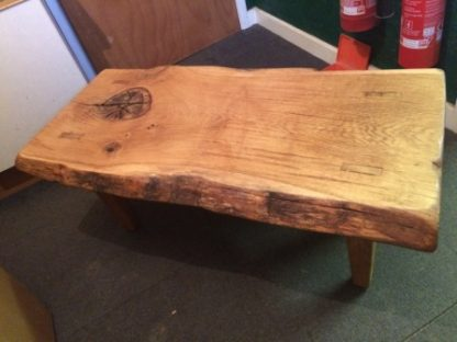 Waney Edge Oak Coffee or Garden Table