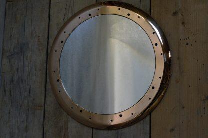 Polished Brass Mirror